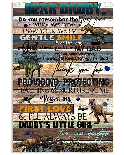 DEAR DADDY - DINOSAUR - THANK YOU