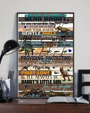 DEAR DADDY - DINOSAUR - THANK YOU 16x24 Poster lifestyle-poster-2