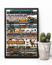 DEAR DADDY - DINOSAUR - THANK YOU 16x24 Poster lifestyle-poster-8