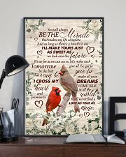 Husband and Wife - Cardinal - You Will Always Be 16x24 Poster lifestyle-poster-2