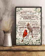 Husband and Wife - Cardinal - You Will Always Be 16x24 Poster lifestyle-poster-3
