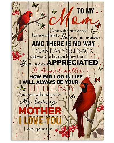 POSTER - TO MY MOM - YOU ARE APPRECIATED