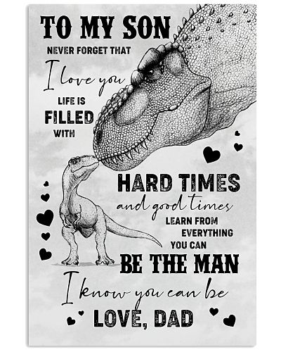 POSTER - TO SON - T REX - NEVER FORGET THAT