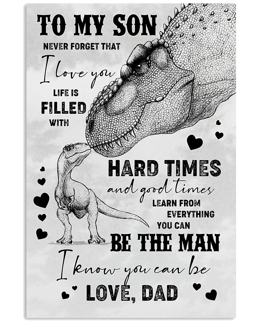 POSTER - TO SON - T REX - NEVER FORGET THAT 16x24 Poster