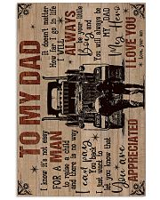 To My Dad - Trucker - Poster 16x24 Poster front
