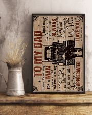 To My Dad - Trucker - Poster 16x24 Poster lifestyle-poster-3