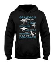 GRANDMA TO GRANDSON - DINOS - FAVORITE Hooded Sweatshirt thumbnail