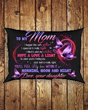 PILLOW - TO MY MOM - MY LOVE WITHIN IT Rectangular Pillowcase aos-pillow-rectangle-front-lifestyle-2