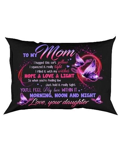 PILLOW - TO MY MOM - MY LOVE WITHIN IT
