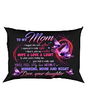 PILLOW - TO MY MOM - MY LOVE WITHIN IT Rectangular Pillowcase front