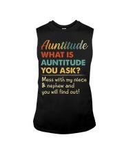 AUNTITUDE - YOU WILL FIND OUT Sleeveless Tee thumbnail