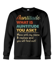 AUNTITUDE - YOU WILL FIND OUT Crewneck Sweatshirt thumbnail