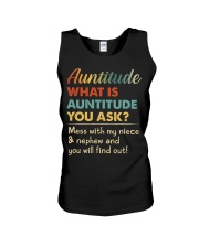 AUNTITUDE - YOU WILL FIND OUT Unisex Tank thumbnail
