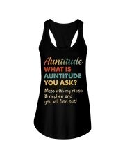 AUNTITUDE - YOU WILL FIND OUT Ladies Flowy Tank thumbnail