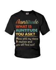 AUNTITUDE - YOU WILL FIND OUT Youth T-Shirt thumbnail