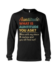 AUNTITUDE - YOU WILL FIND OUT Long Sleeve Tee thumbnail