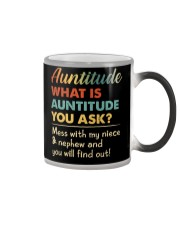 AUNTITUDE - YOU WILL FIND OUT Color Changing Mug thumbnail