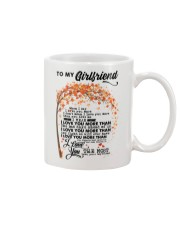 TO MY GIRLFRIEND Mug thumbnail