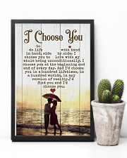 HUSBAND AND WIFE - SIDE BY SIDE - I CHOOSE YOU 16x24 Poster lifestyle-poster-8