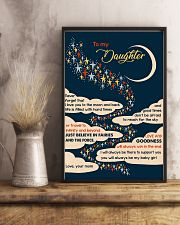To Daughter - I Love You To The Moon And Back  16x24 Poster lifestyle-poster-3