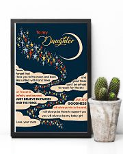 To Daughter - I Love You To The Moon And Back  16x24 Poster lifestyle-poster-8