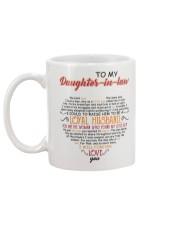 DAUGHTER-IN-LAW - VINTAGE - FOREVER LOVE YOU Mug back