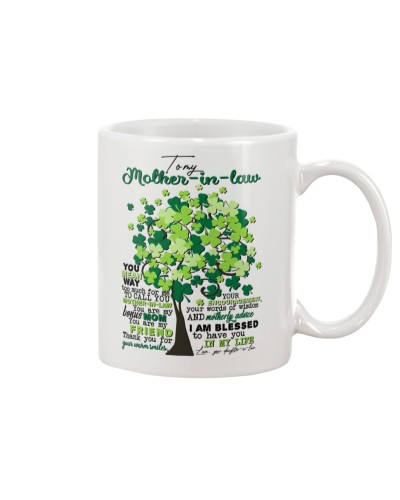 TO MY MOTHER-IN-LAW - SHAMROCK - THANK YOU