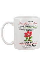 TO MY DAUGHTER-IN-LAW - FLOWER ART - CIRCUS Mug back