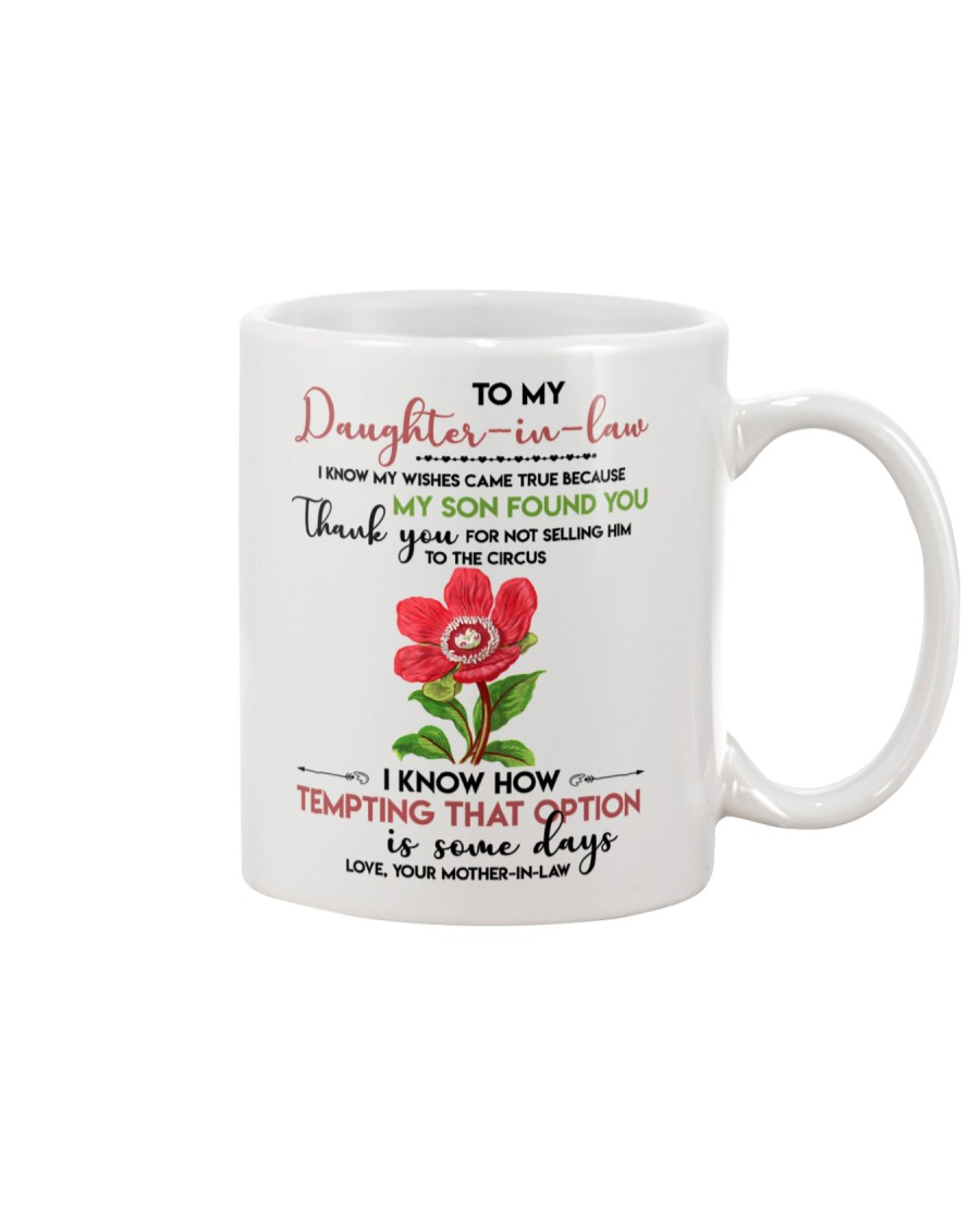 TO MY DAUGHTER-IN-LAW - FLOWER ART - CIRCUS Mug
