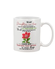 TO MY DAUGHTER-IN-LAW - FLOWER ART - CIRCUS Mug front