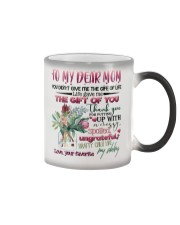 DAUGHTER TO MOM Color Changing Mug thumbnail