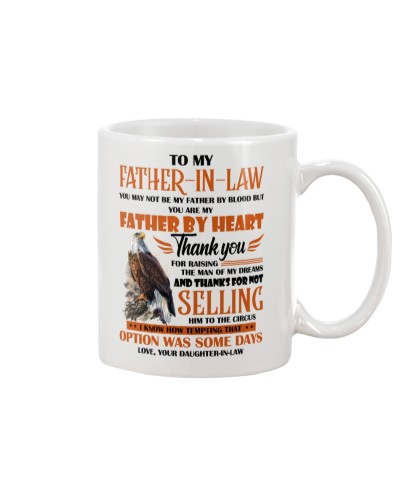 MUG - TO MY FATHER-IN-LAW - EAGLE - THANK YOU