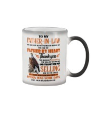 MUG - TO MY FATHER-IN-LAW - EAGLE - THANK YOU Color Changing Mug thumbnail