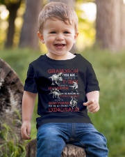 TO GRANDSON - DINOS - FAVORITE Youth T-Shirt lifestyle-youth-tshirt-front-4
