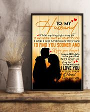 TO MY HUSBAND - COUPLE - I LOVE YOU 16x24 Poster lifestyle-poster-3