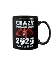 T-SHIRT - CRAZY LADY - DRAGON Mug thumbnail