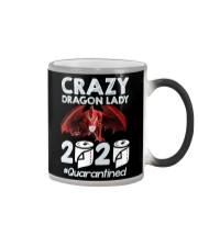 T-SHIRT - CRAZY LADY - DRAGON Color Changing Mug thumbnail