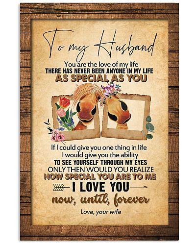 TO MY HUSBAND - HORSE - I LOVE YOU