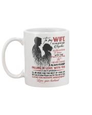 TO MY WIFE - COUPLE - I LOVE YOU Mug back