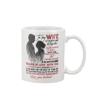 TO MY WIFE - COUPLE - I LOVE YOU Mug front