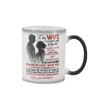 TO MY WIFE - COUPLE - I LOVE YOU Color Changing Mug thumbnail