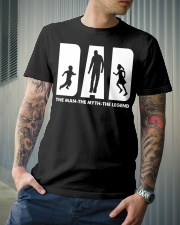 The man The myth The legend Classic T-Shirt lifestyle-mens-crewneck-front-6