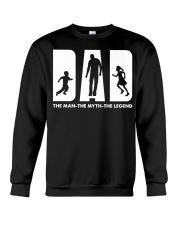 The man The myth The legend Crewneck Sweatshirt thumbnail