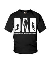 The man The myth The legend Youth T-Shirt thumbnail