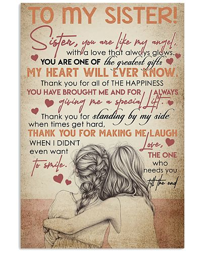 TO MY SISTER - GIRLS - THANK YOU
