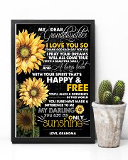 MY DEAR GRANDDAUGHTER 16x24 Poster lifestyle-poster-8