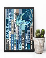 To My Daughter - Dolphin - Life Is Filled 16x24 Poster lifestyle-poster-8