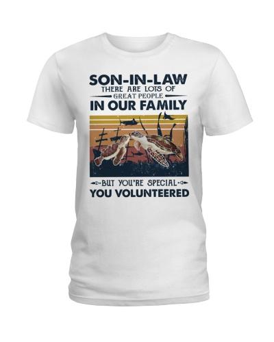 SON-IN-LAW - TURTLE - VINTAGE - YOU VOLUNTEERED