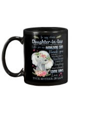 To My Daughter-in-law - Boho Elephant - Circus Mug back