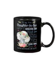 To My Daughter-in-law - Boho Elephant - Circus Mug front